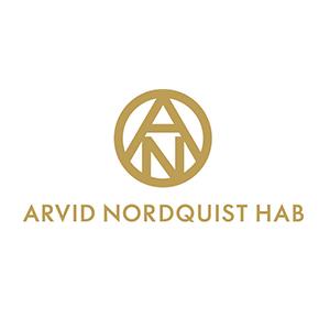 Logo Arvid Nordquist. Grafikk.
