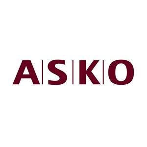 Logo ASKO. Grafikk.
