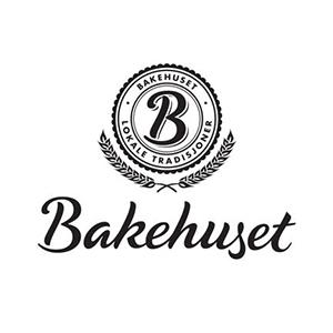 Logo Bakehuset. Grafikk.