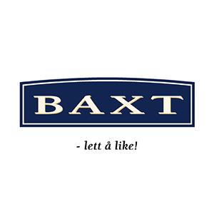 Logo Baxt. Grafikk.