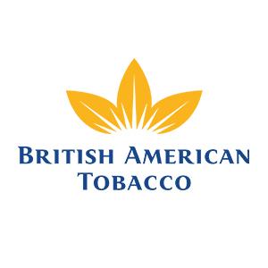 Logo British American Tobacco. Grafikk.