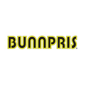 Logo Bunnpris. Grafikk.