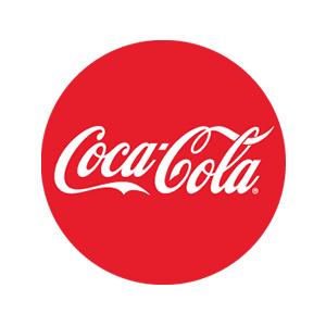 Logo Coca Cola. Grafikk.