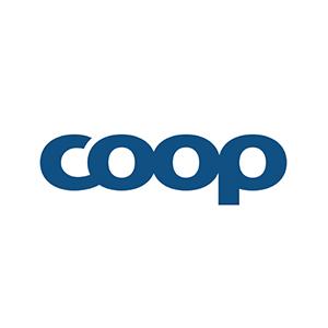 Logo COOP. Grafikk.