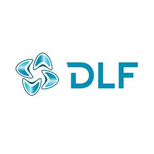 Logo DLF. Grafikk.