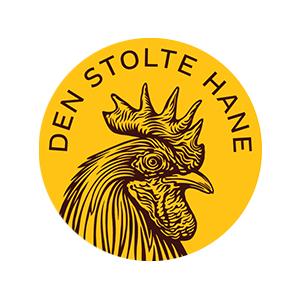 Logo Den Stolte Hane. Grafikk.