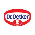 Logo Dr. Oetker. Grafikk.