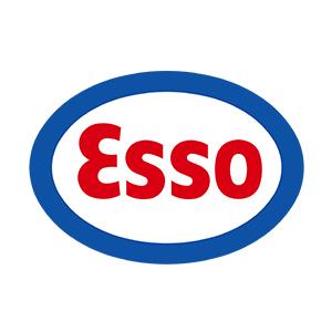 Logo Esso. Grafikk.