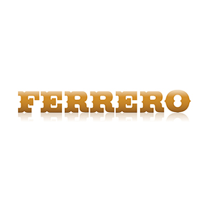 Logo Ferrero. Grafikk.