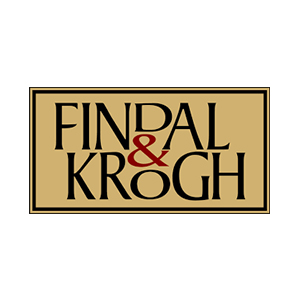 Logo Findal & Krogh. Grafikk.