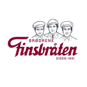 Logo Finsbråten. Grafikk.
