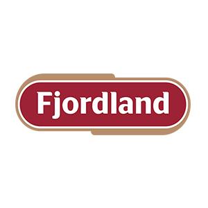 Logo Fjordland. Grafikk.