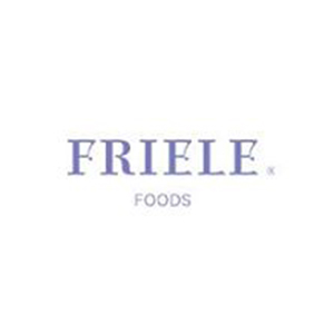 Logo Friele foods. Grafikk.