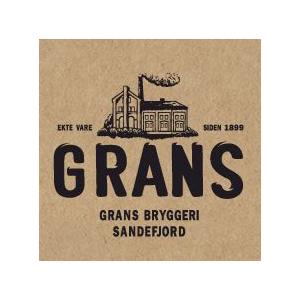 Logo Grans Bryggeri. Grafikk.