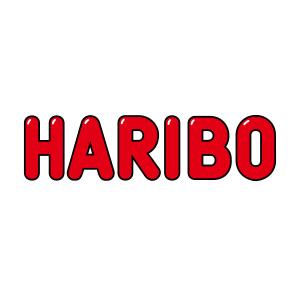 Logo Haribo. Grafikk.