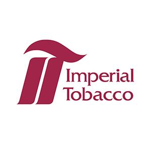 Logo Imperial Tobacco. Grafikk.