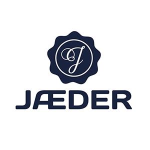Logo Jæder. Grafikk.