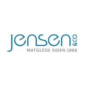Logo Jensen & Co. Grafikk.