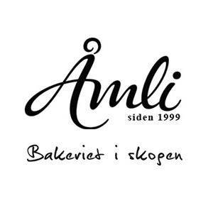 Logo Åmli bakeri. Grafikk.