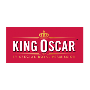 Logo King Oscar. Grafikk.
