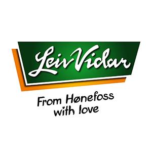 Logo Leiv Vidar. Grafikk.