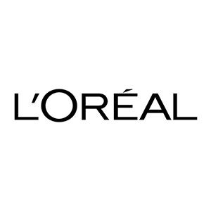 Logo L'Oreal. Grafikk.