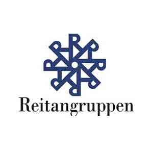 Logo Reitangruppen. Grafikk.