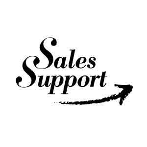 Logo SalesSupport. Grafikk.