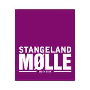 Logo Stangeland Mølle. Grafikk.