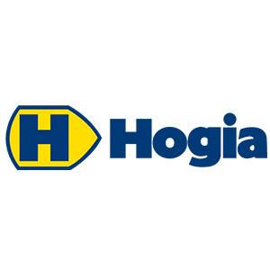 Logo Hogia. Grafikk.