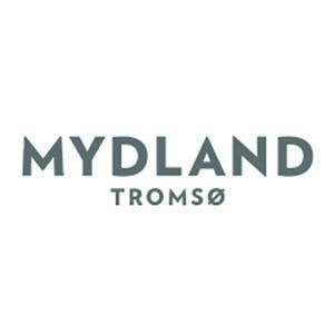 Logo Mydland. Grafikk.