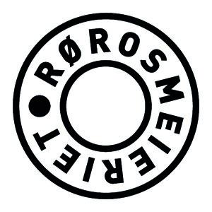 Logo Rørosmeieriet. Grafikk.