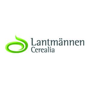 Logo Lantmannen. Grafikk.