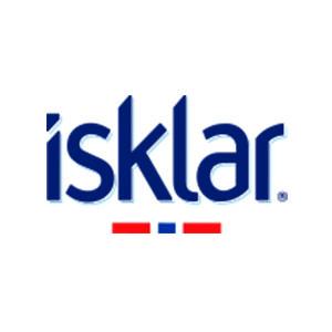 Logo Isklar. Grafikk.