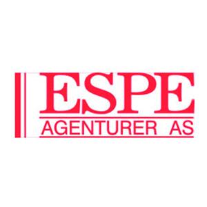 Logo Espe Agenturer. Grafikk.