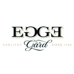 Logo Egge Gård. Grafikk.