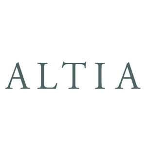 Logo Altia. Grafikk.